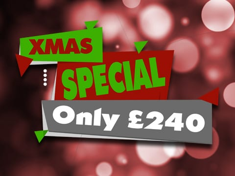Christmas Break in Blackpool Offer
