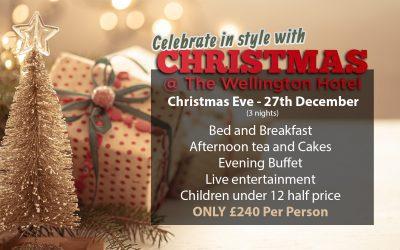 Christmas at the Wellington!